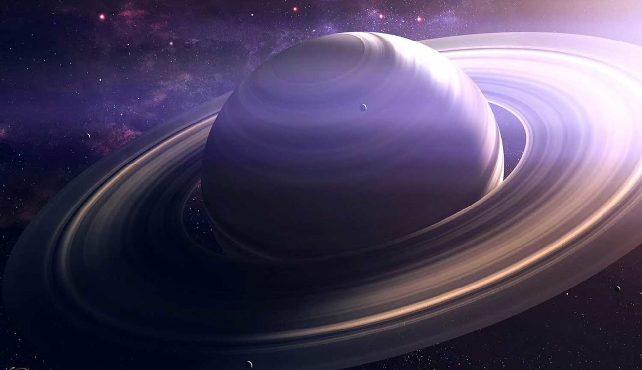 Scientists: dinosaurs caught the formation of Saturn's rings