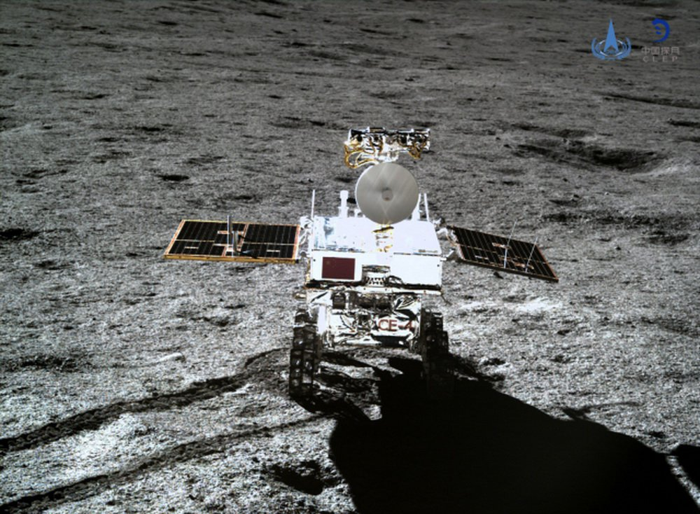 The Chinese lunar Rover has survived the first night on the dark side of the moon