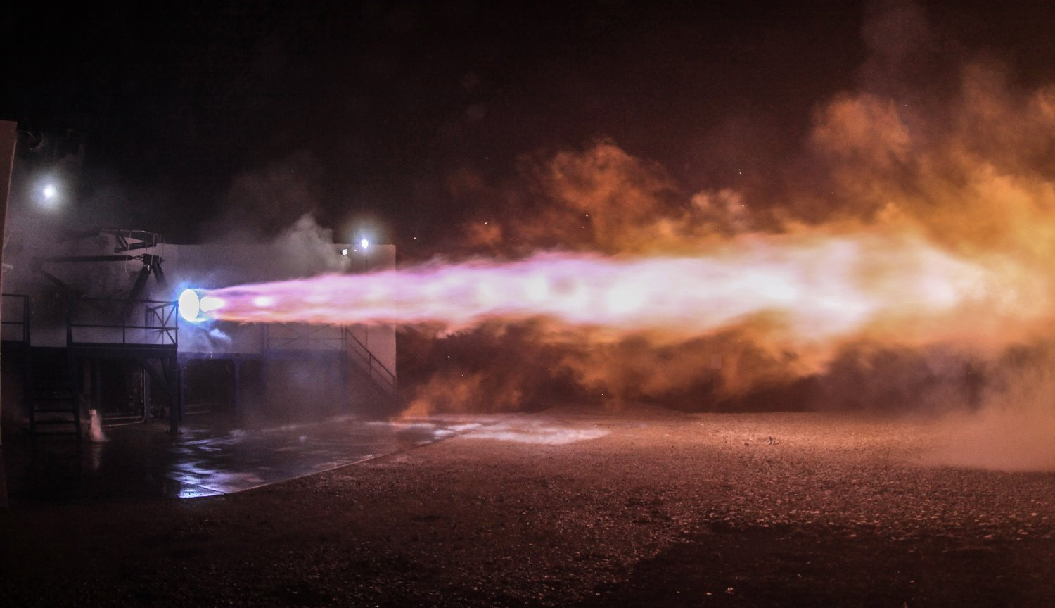 Rocket engine SpaceX Raptor broke the record for the Russian RD-180