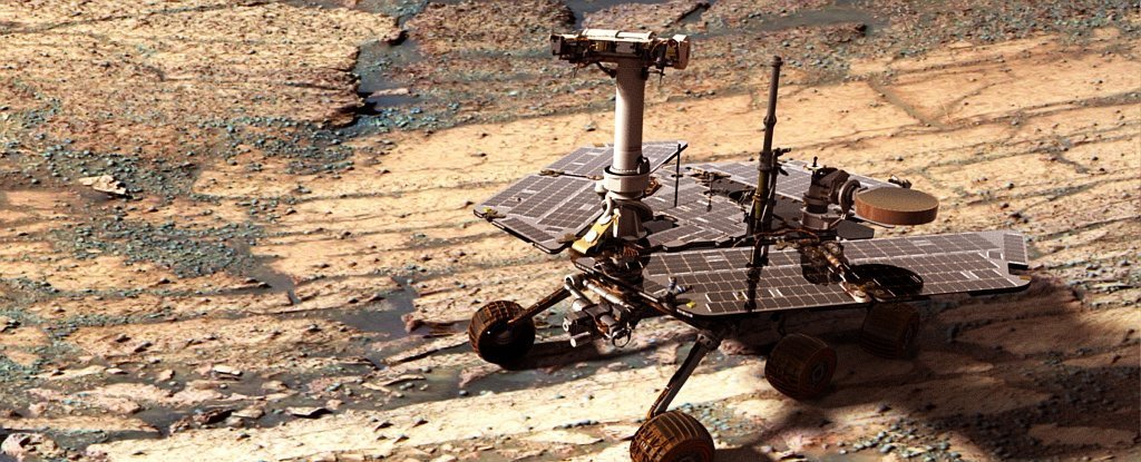 Why not save the Rover opportunity through the Rover's