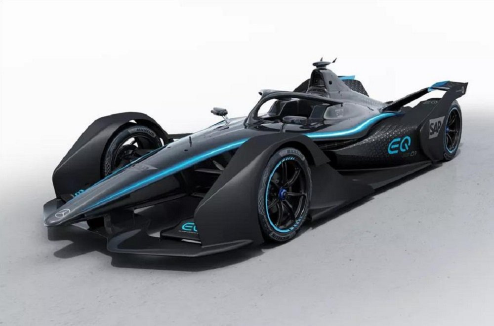 Mercedes-Benz showed its first real electric racing car