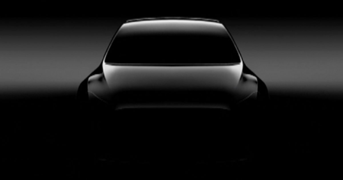 New electric crossover Tesla Model Y will be presented March 14