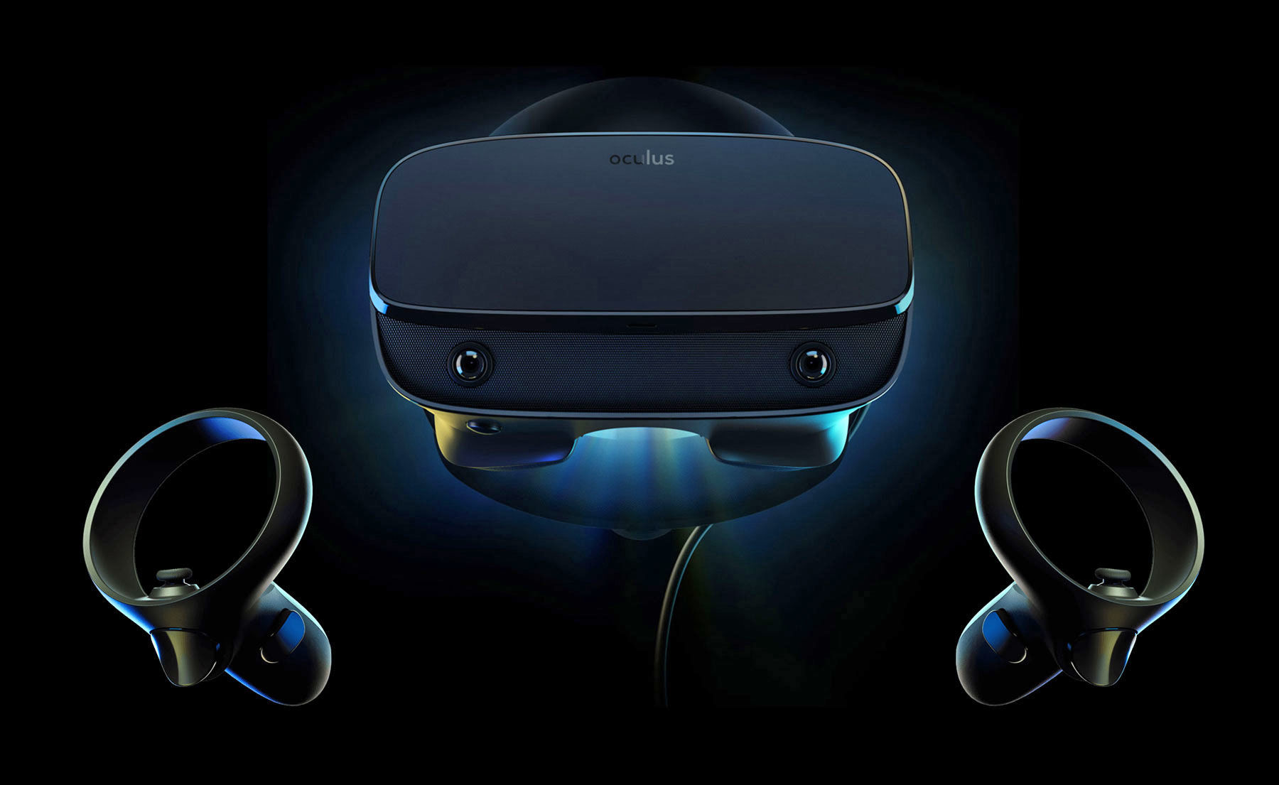 Oculus has unveiled a new virtual reality headset Rift S