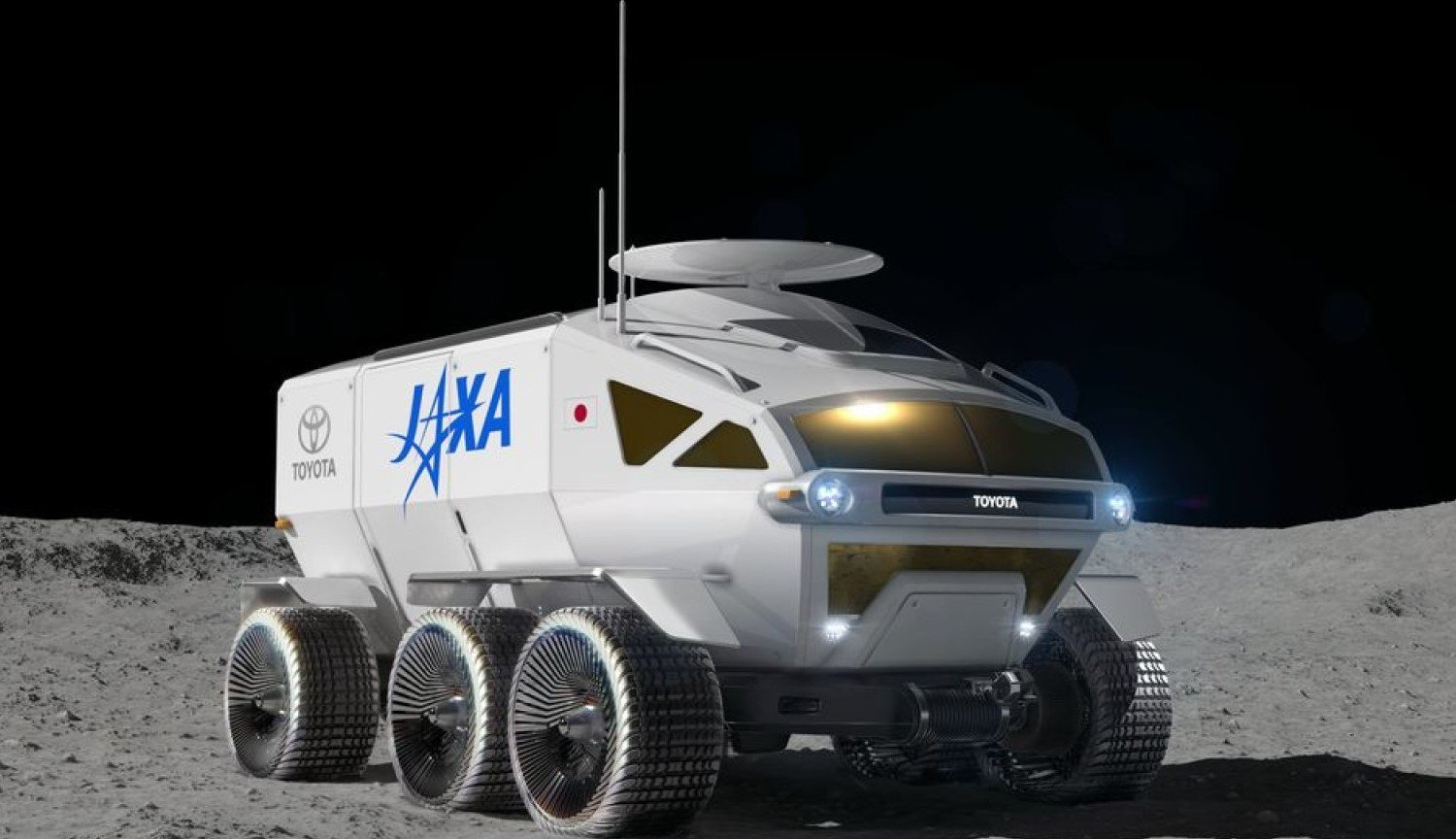 Toyota in space: the Japanese manufacturer is developing a lunar Rover