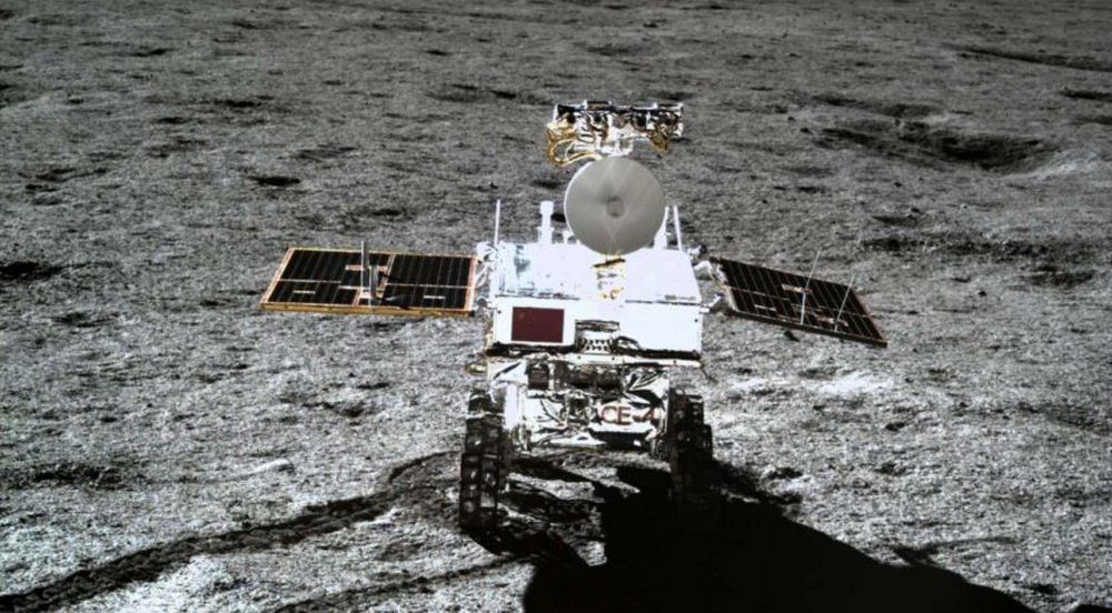 If the Chinese lunar Rover