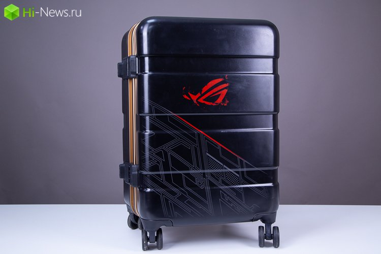 What's in the black suitcase?