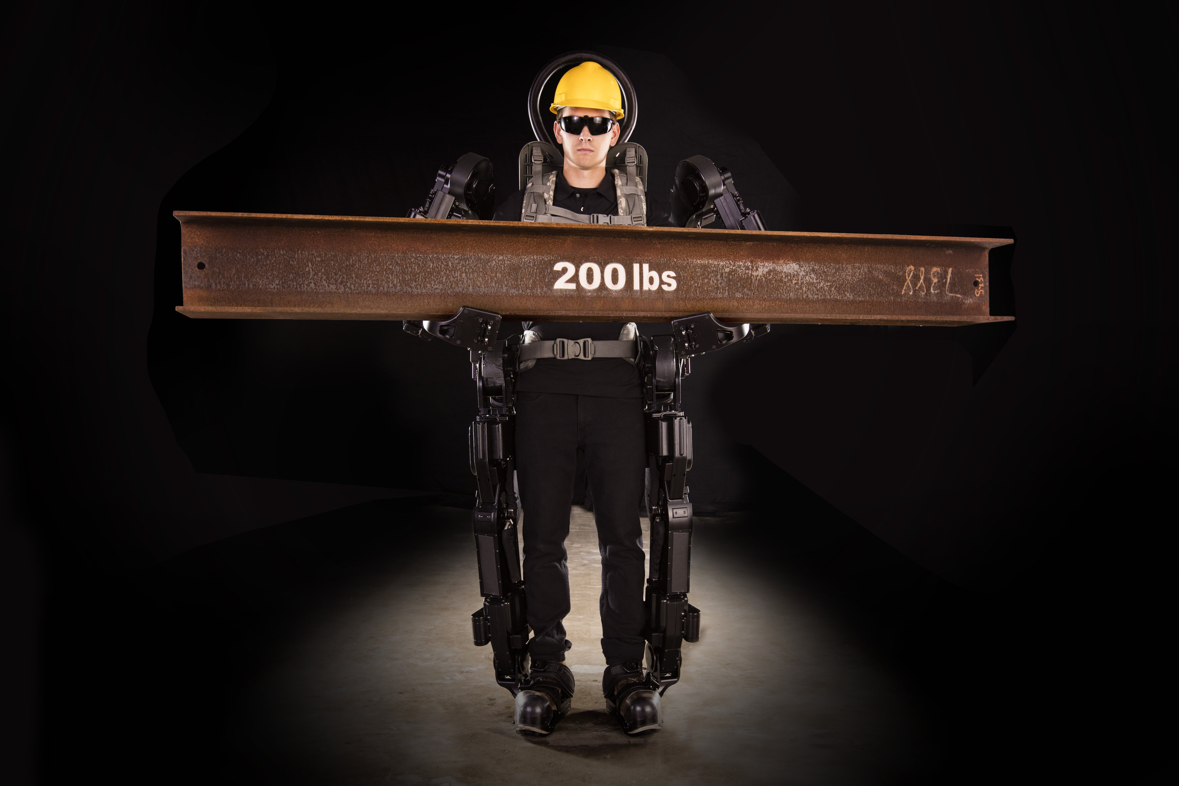 The new exoskeleton will help a person to lift a weight of 90 kilograms