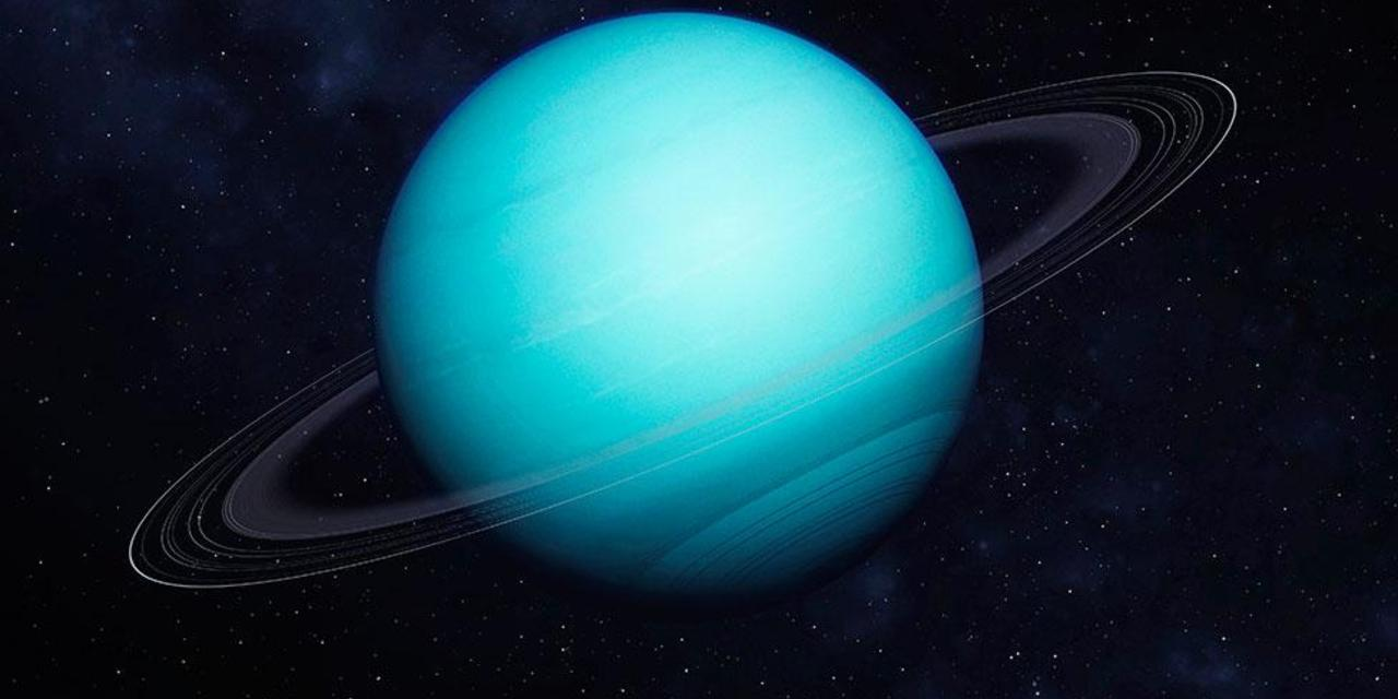 Scientists first measured the temperature of the rings of Uranus
