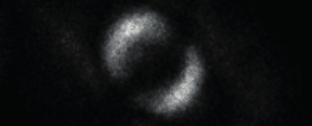 The first ever picture of quantum entanglement