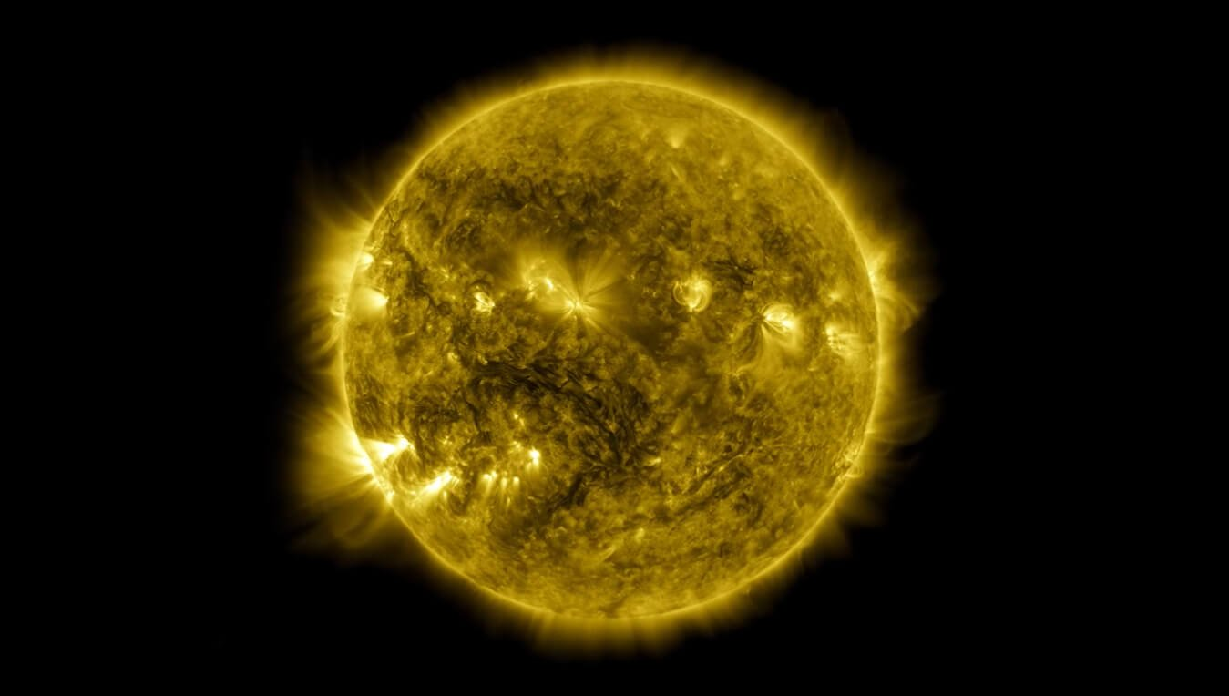 NASA showed 10 years of the life of a Sun on one video