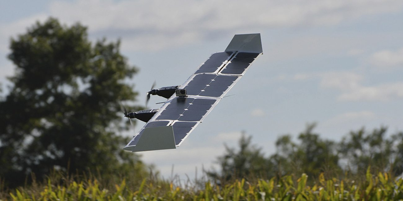 American developers have created an unmanned wing-transformer