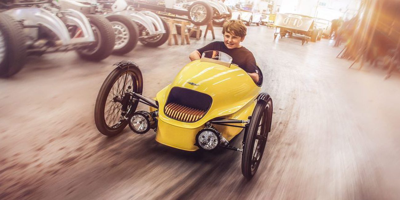 Began sales of luxury kids electric car from Morgan