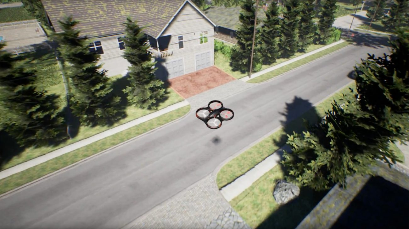 Microsoft has published the program for carrying out crash tests of drones