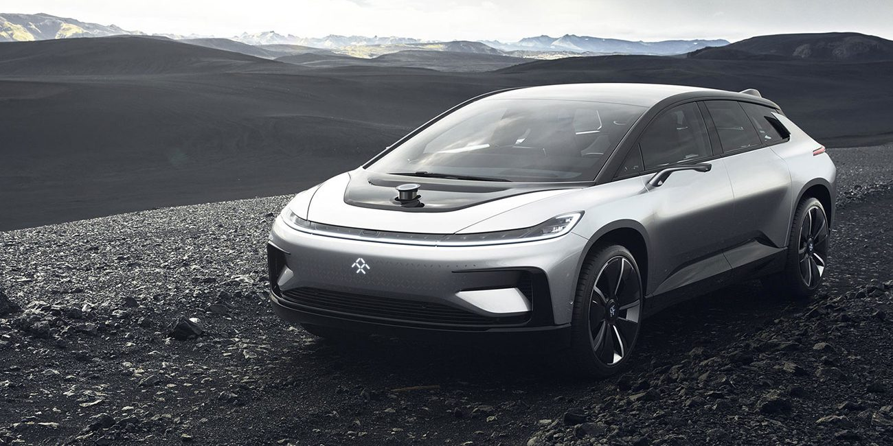 Electric Faraday Future will compete with Tesla in the race Pikes Peak