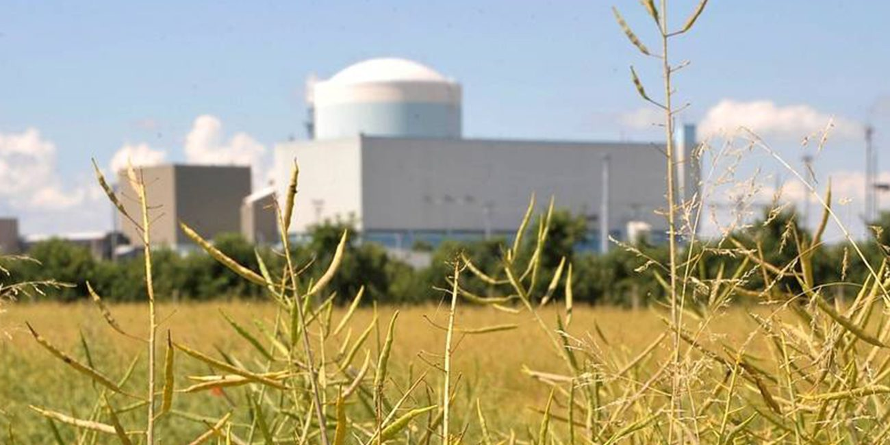 Siemens printed on a 3D printer detail for nuclear power plants