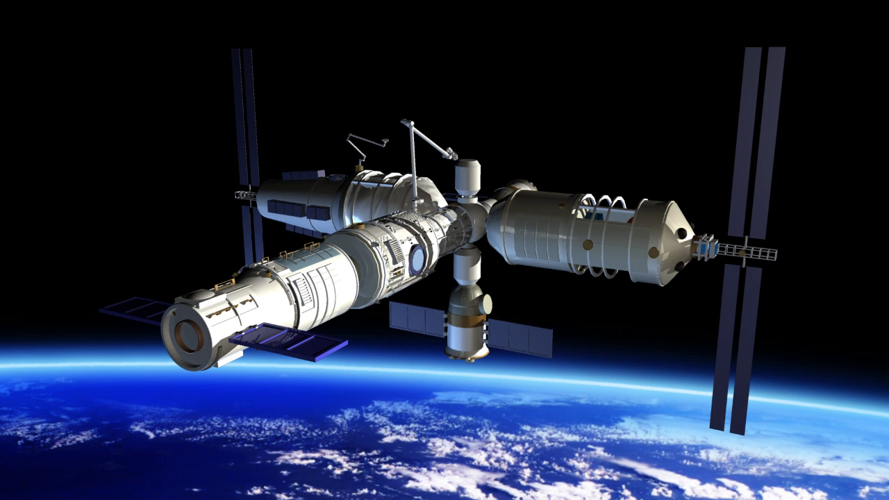 The main module of the Chinese space station will launch next year