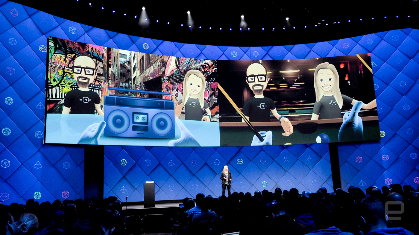 The company Facebook has integrated virtual reality to your social network