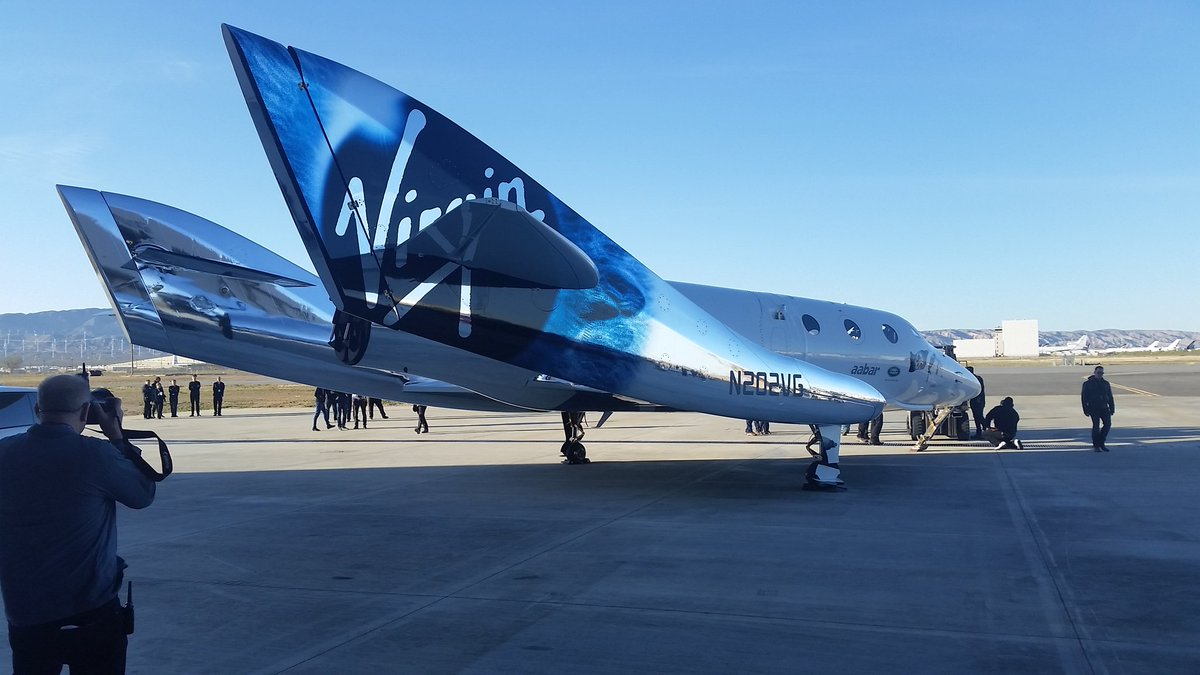 The tourist spaceship, Virgin Galactic has made another test flight