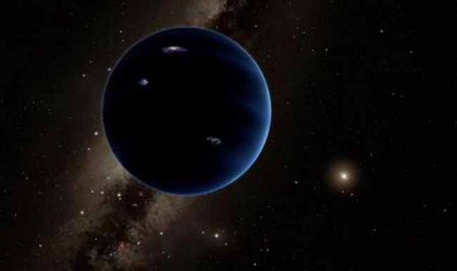 What is known about the ninth planet at the moment?
