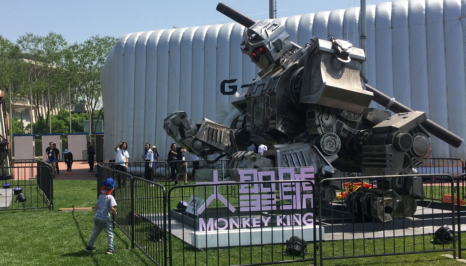China will take part in the battle of giant fighting robots