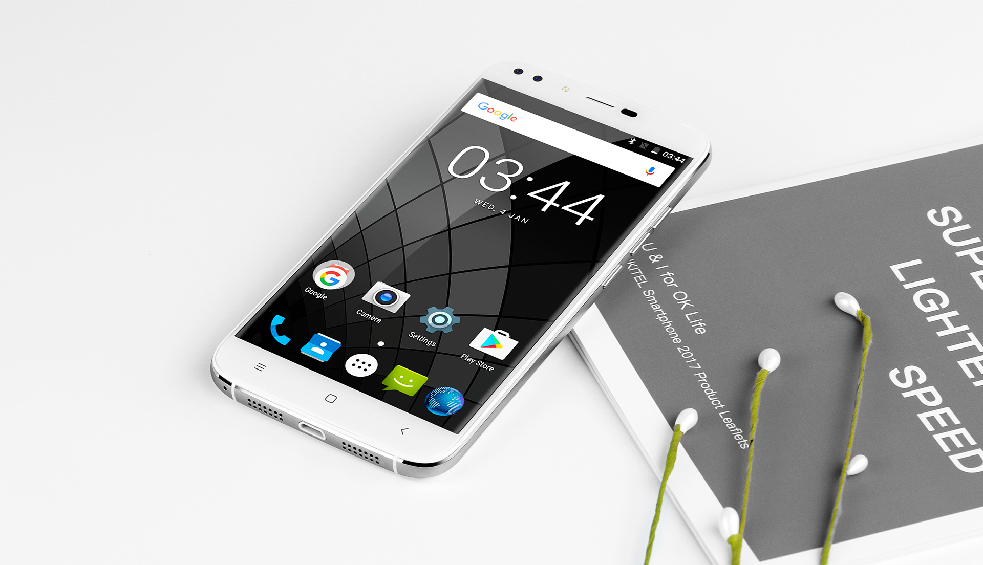 The first acquaintance with the Quad-smartphone OUKITEL U22
