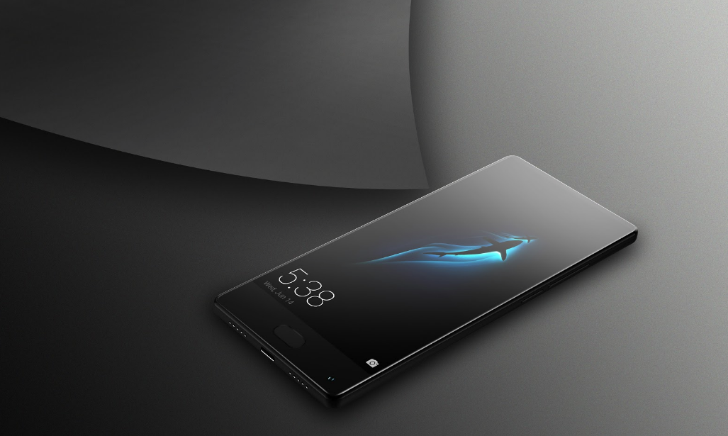 Details about the design of the smartphone BLUBOO S1