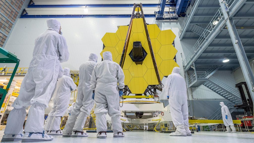 For an ultra-modern telescope JWST has selected the first target for research