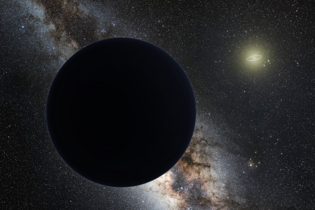 A survey of the Solar system questioned the ninth planet