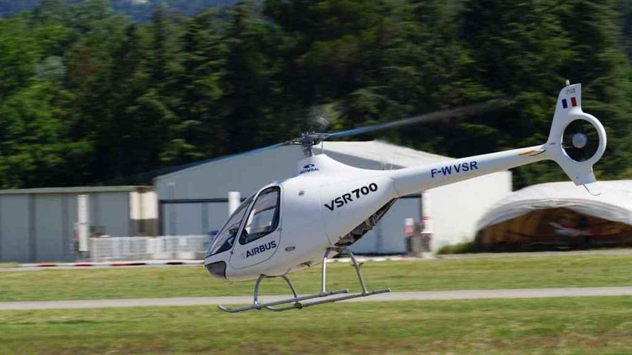Robot helicopter from Airbus made its first solo flight
