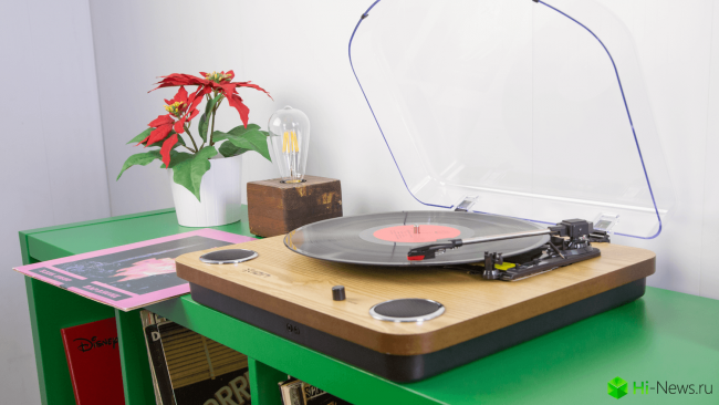ION MAX LP — a new way to listen to music the old way