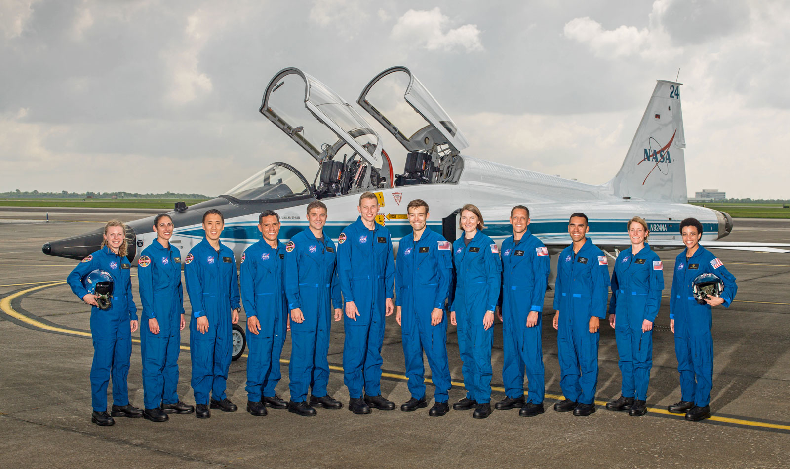 Formed by 22 people, a team of NASA astronauts for future space missions
