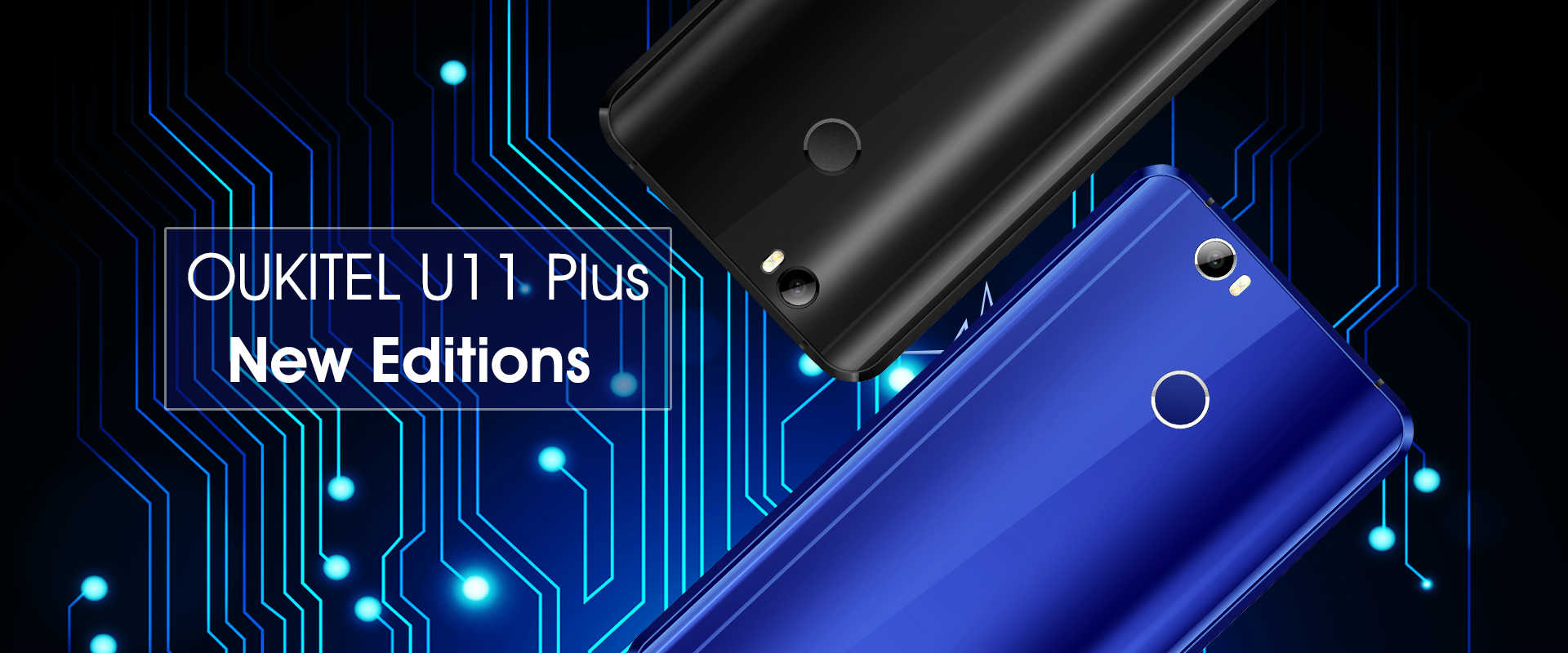 Smartphone OUKITEL U11 Plus got two new versions