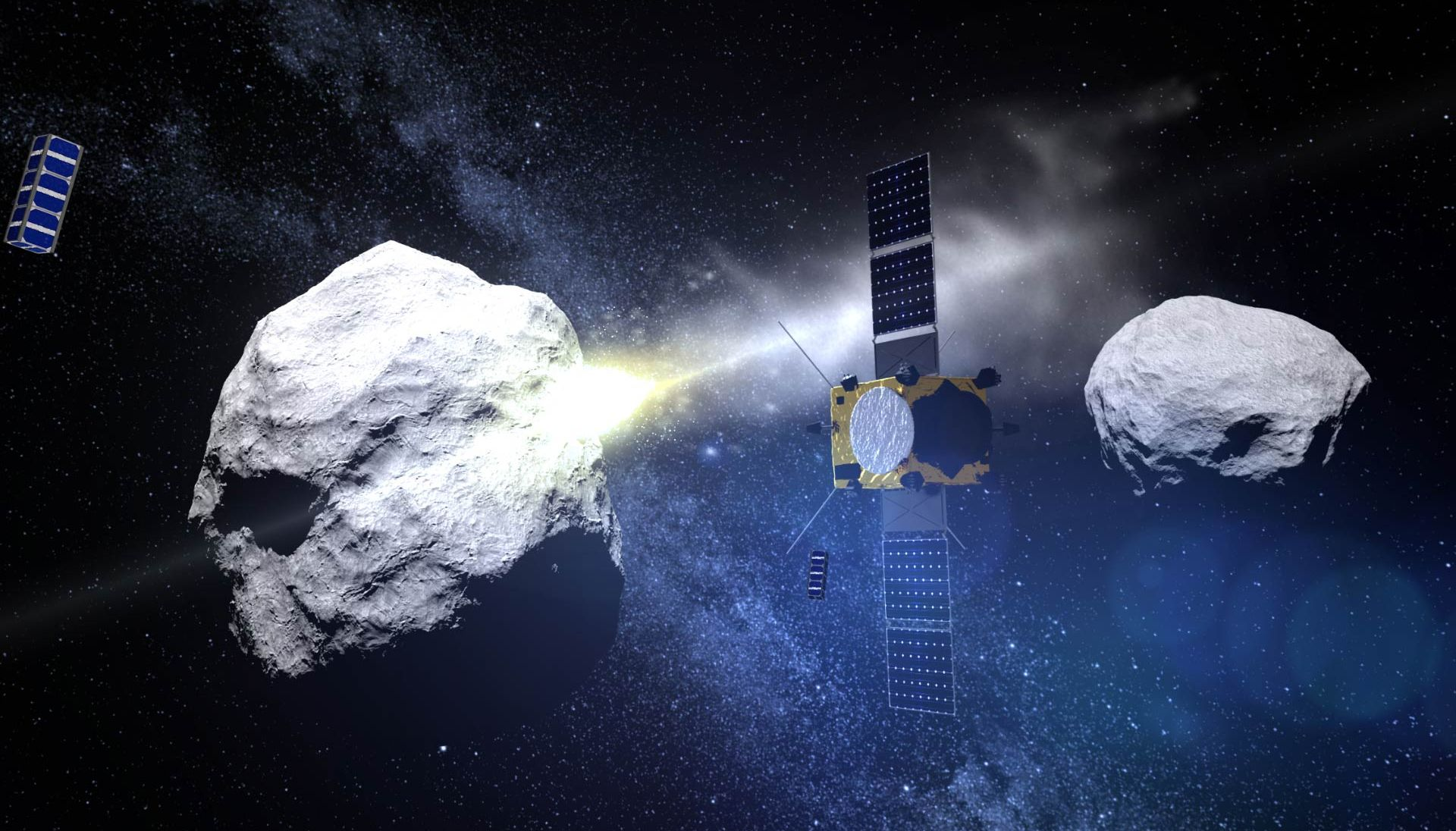 NASA and ESA will take the asteroid to RAM in 2024