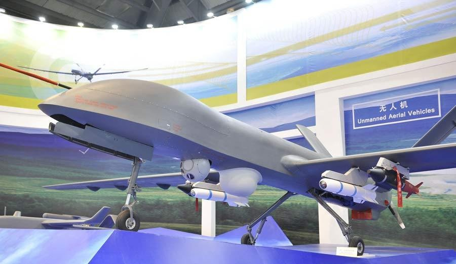 In China experienced a first-strike by a drone of its own production