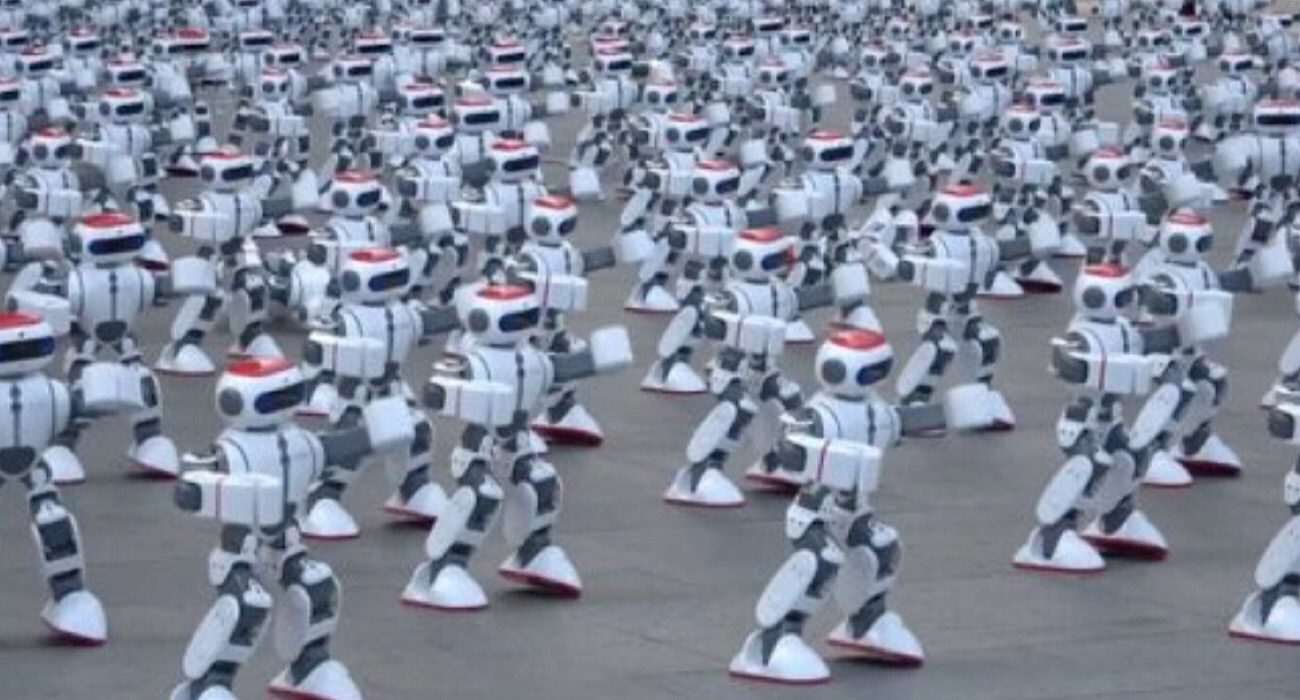 #video | the Everyday life of the Guinness book of records: 1000 at the same time the dancing robot
