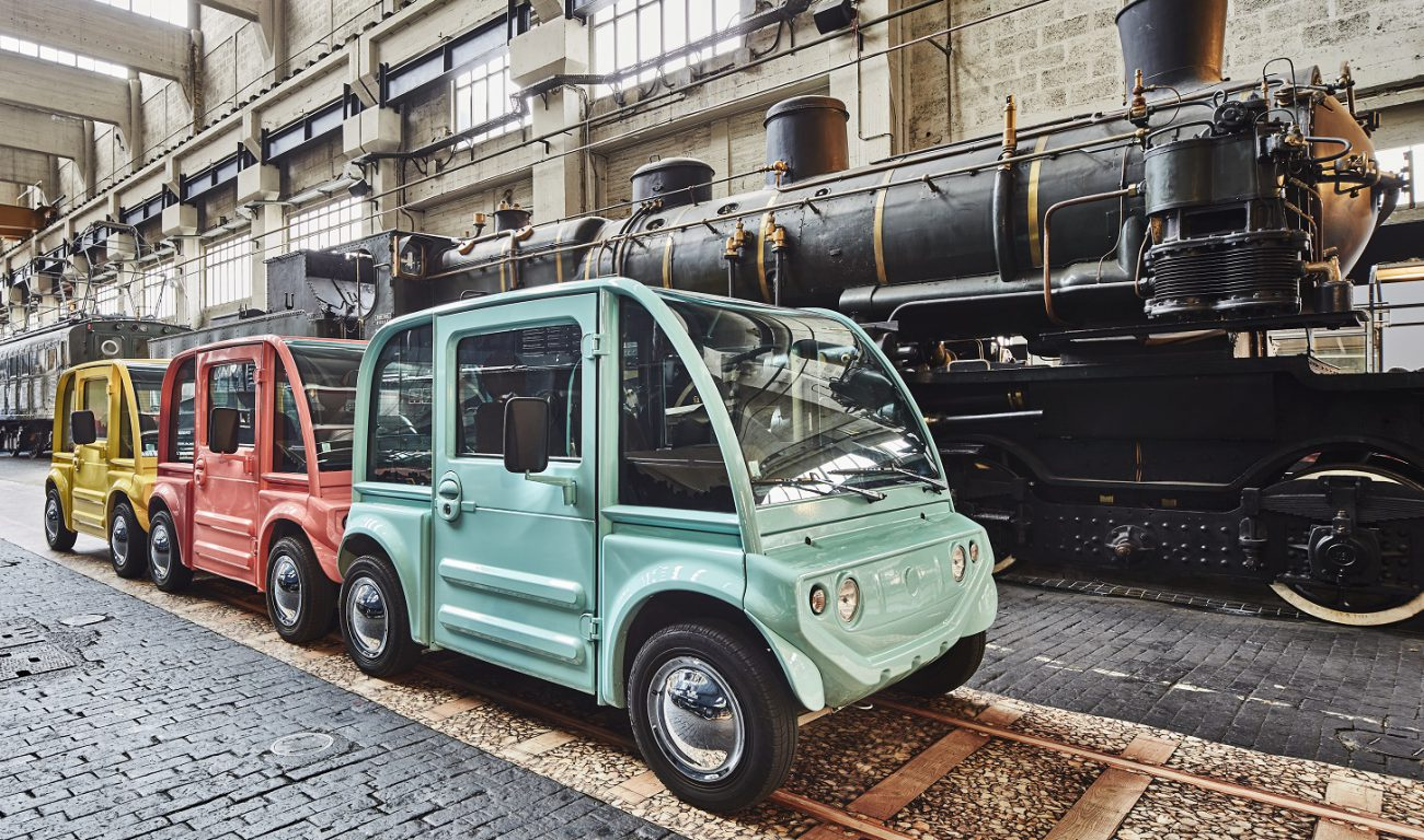 Startup XYT presented a modular urban electric cars