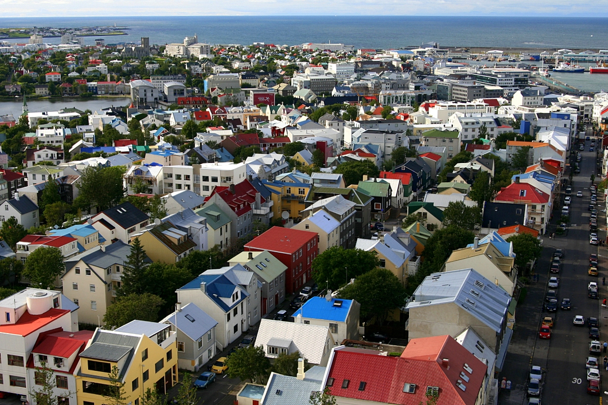 In Reykjavik earned delivery drones