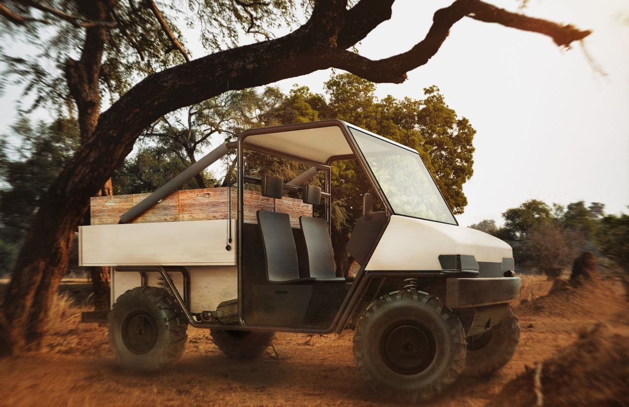 aCar — a harsh electric car for the harsh African roads