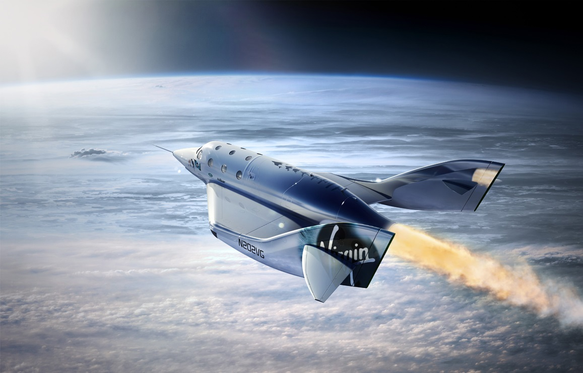 The head of Virgin Galactic flew SpaceShipTwo on in six months