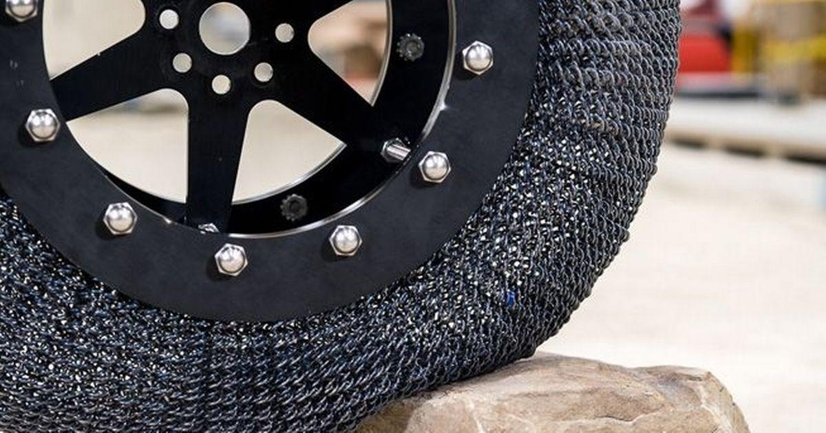 NASA developed tires with memory foam for the new Rover
