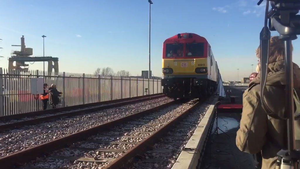 In the UK trains will run on solar energy