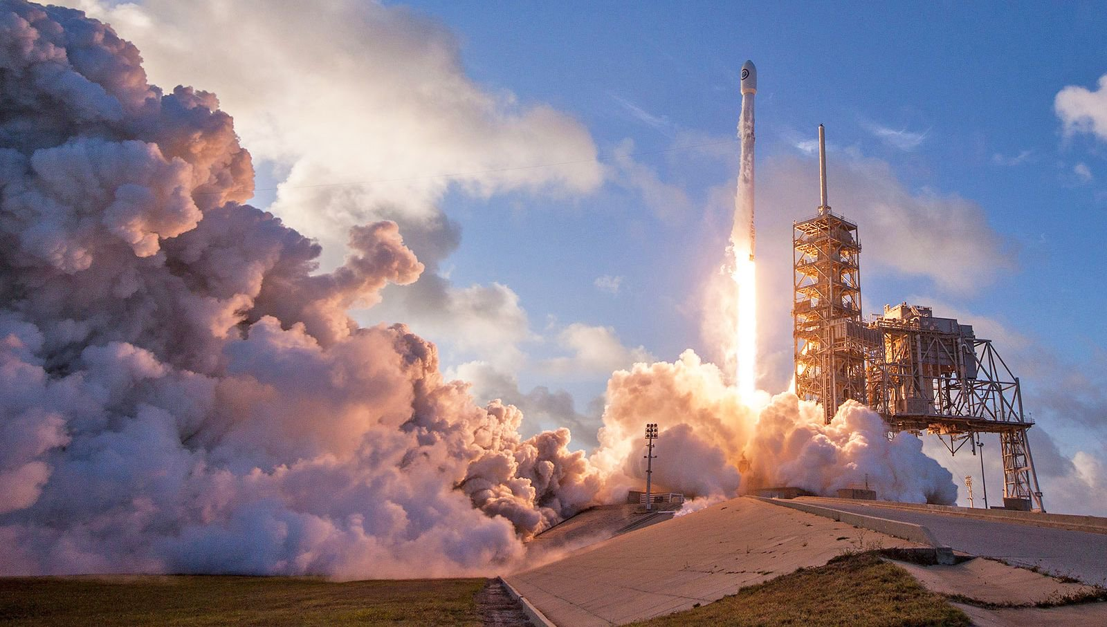 On the weekend, SpaceX will orbit two communications satellites