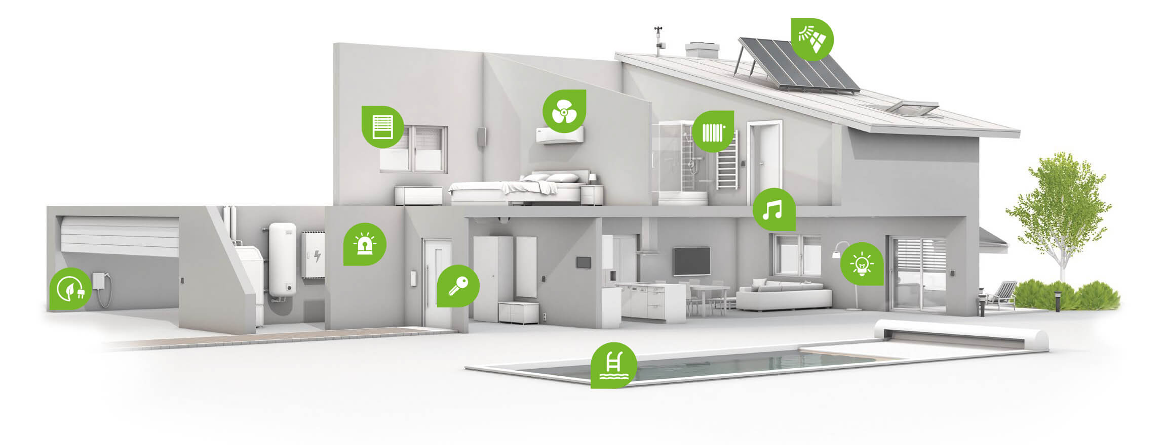 Smart home not only automatiseret your life, but also help to monitor the health of
