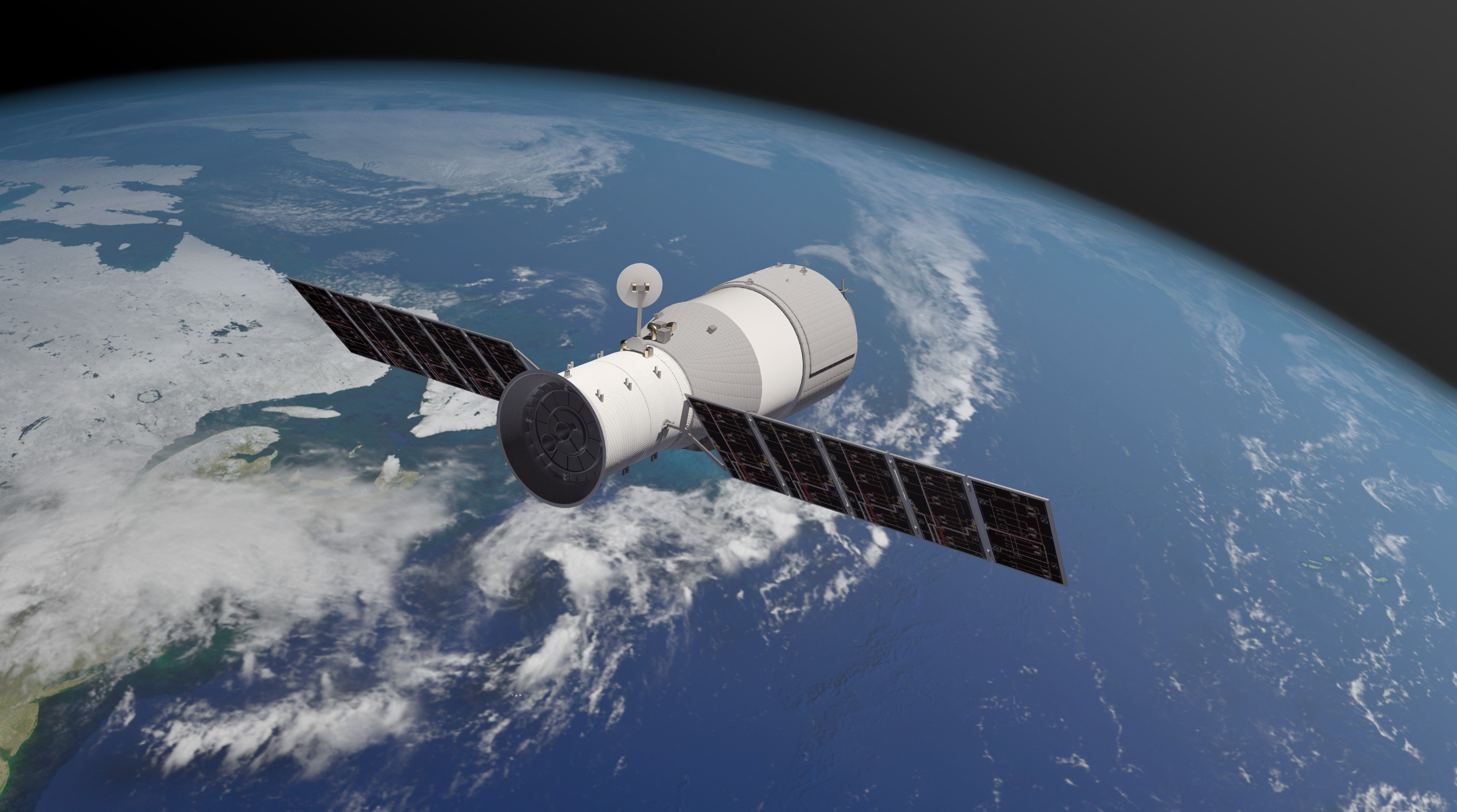 china space station - 1200×668