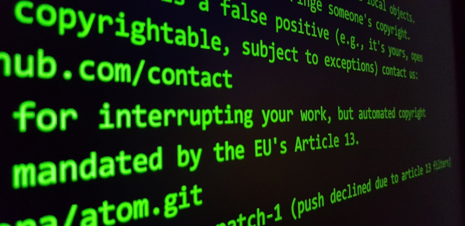 The laws of the European Union can dramatically change the Internet