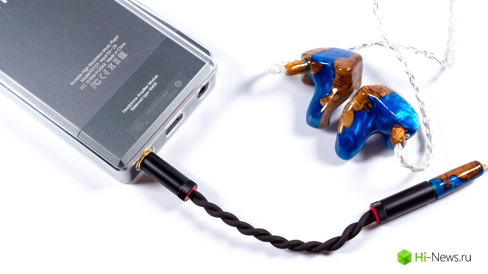 An overview of the amplification module AM4B FiiO and FiiO adapter BL44