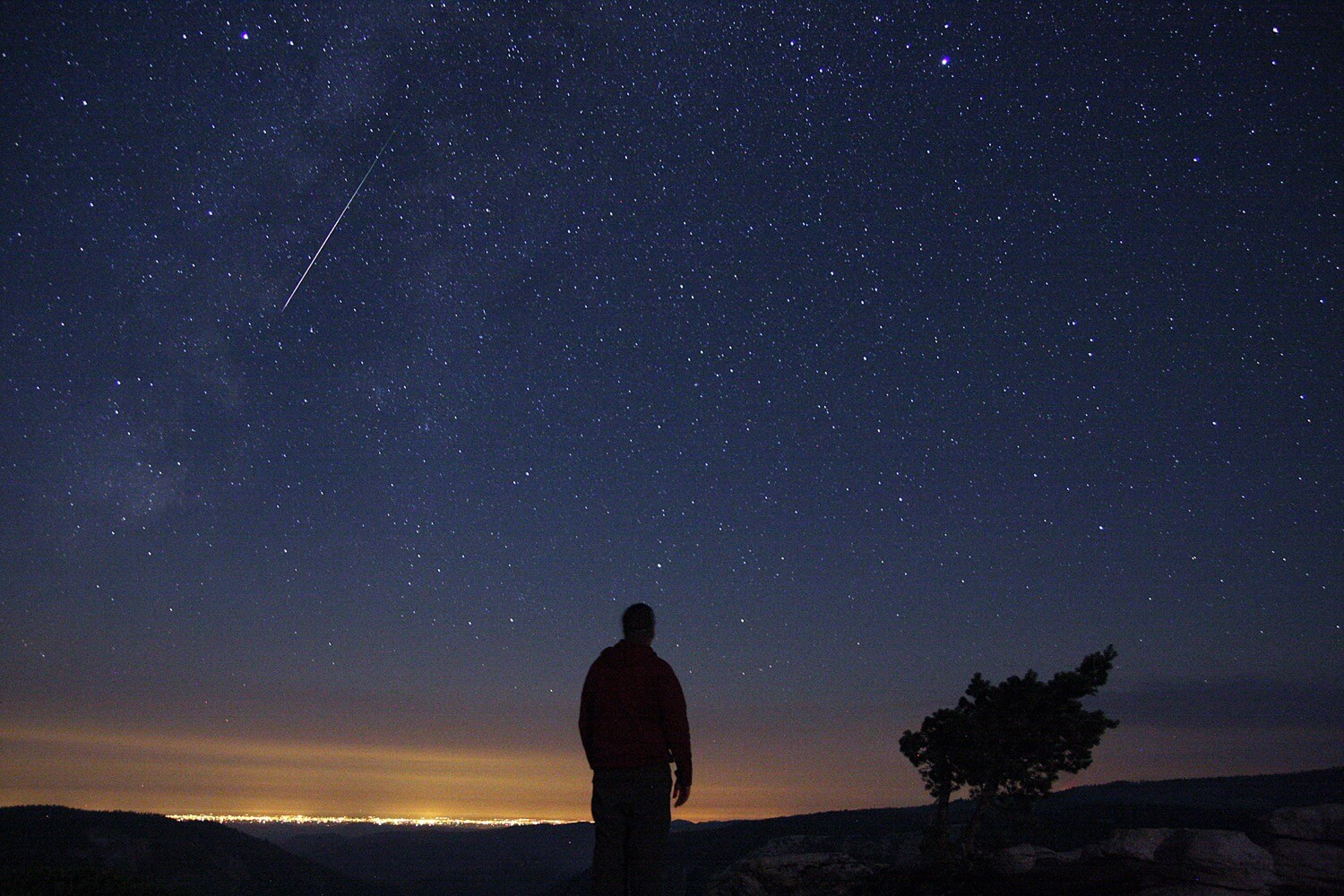 What to do in the evening? Go to photograph meteors with a prescription from NASA