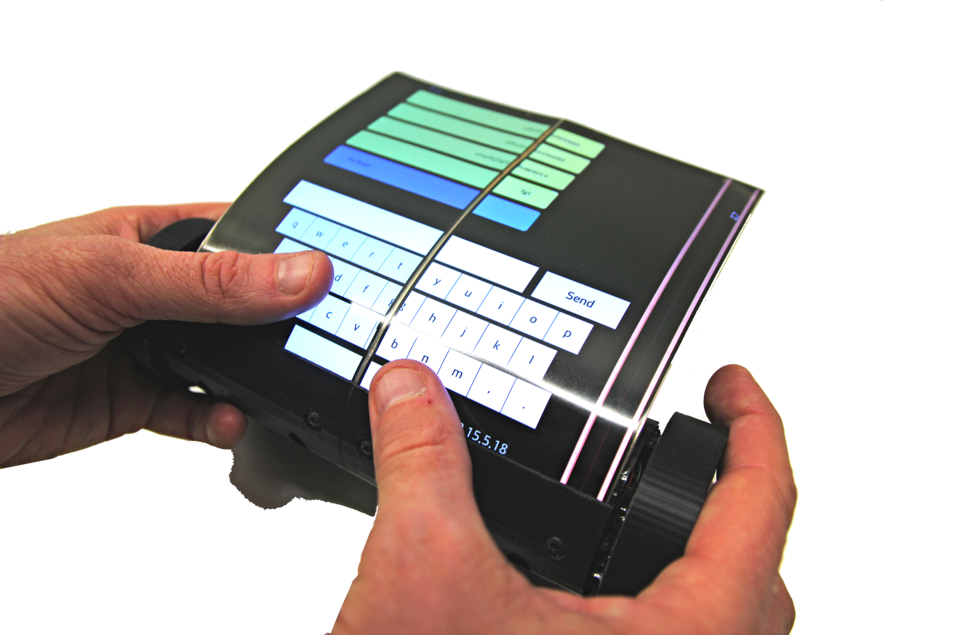 Created multi-touch tablet that you can twist the scroll