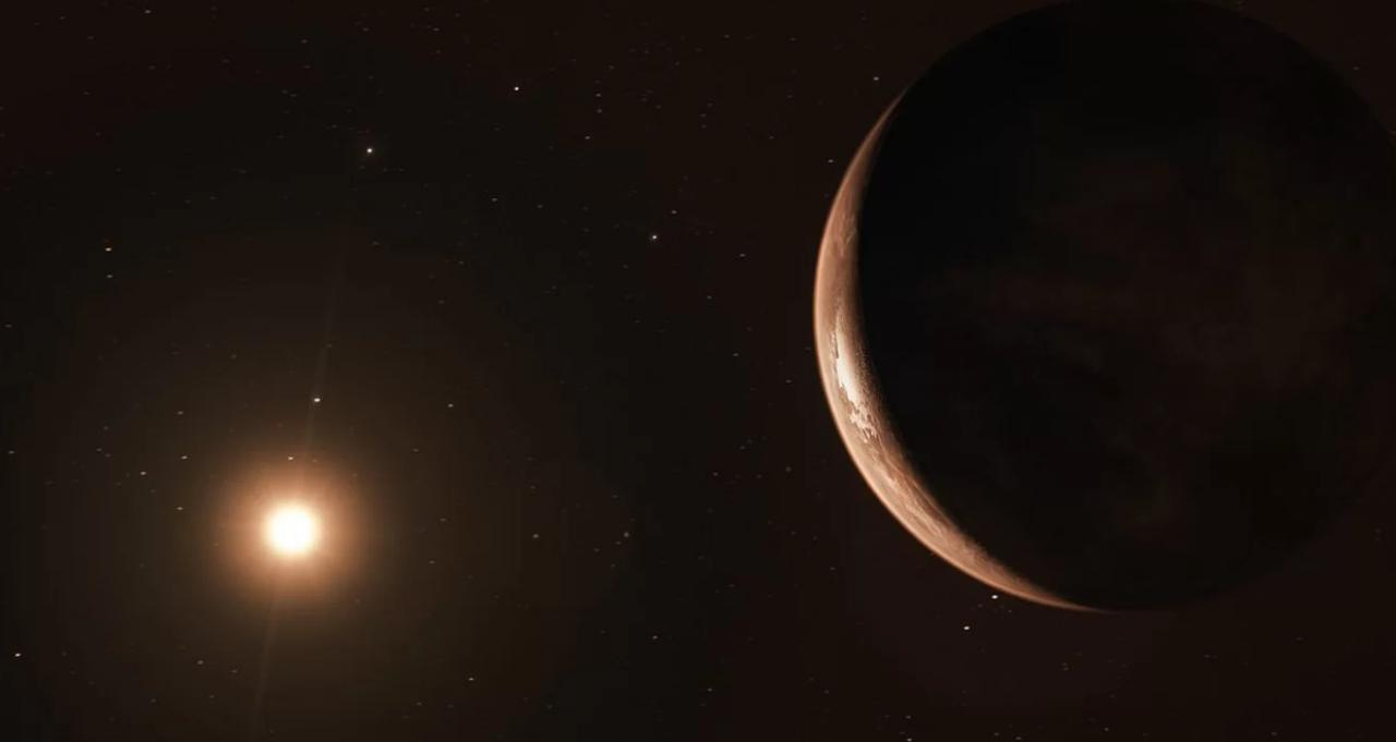 Frozen super-earths in the orbit of Barnard's star: what hides our