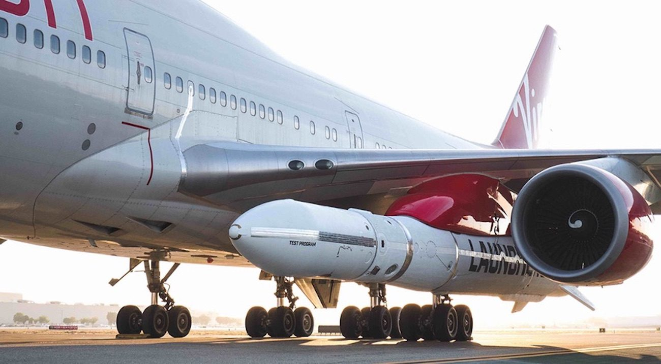 Virgin Orbit conducted the first test flight of the rocket LauncherOne
